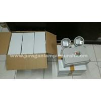 Lampu Emergency LED Twins Spot Powercraft