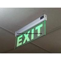 Lampu LED Exit Transparan