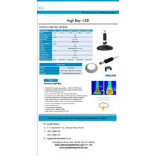 Lampu High Bay LED Philips Fortimo