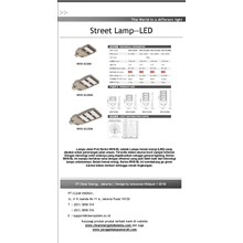 Lampu Jalan LED Artalux