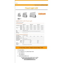 Lampu Sorot LED / Flood Light OSRAM Simplitz -150W
