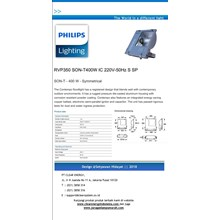 Lampu Sorot Metal Halide Philips RVP350 SON-T 400W