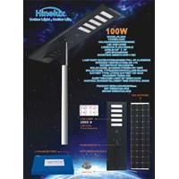 Lampu Jalan PJU LED All in One Hinolux -100W DC