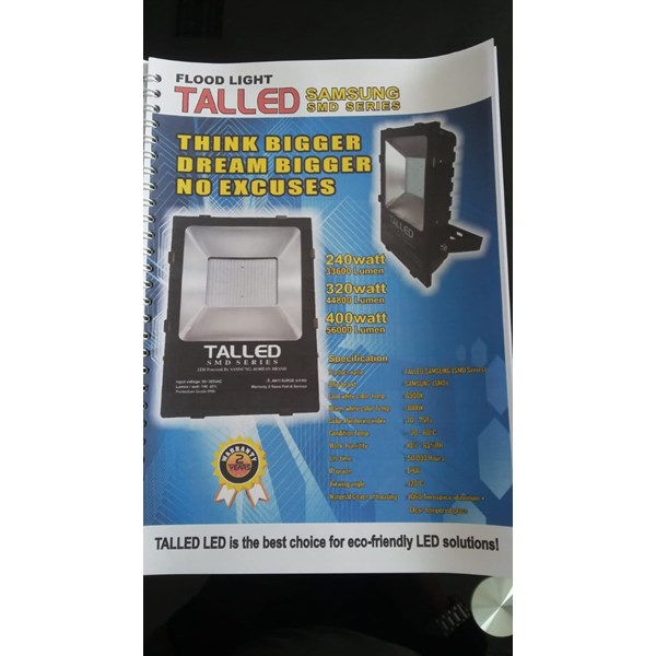 TALLED Floodlight LED 240 W