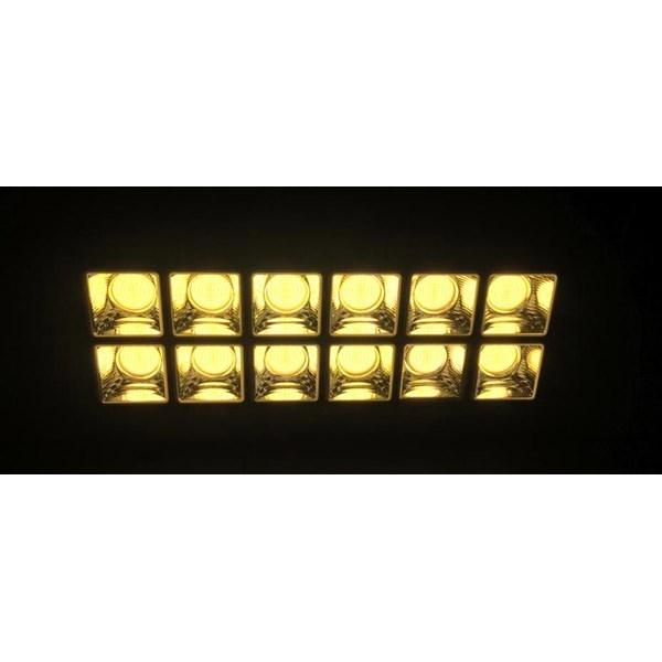 Lampu Sorot LED Fatro COB -600 Watt  Warm White