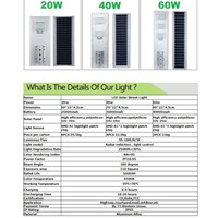 Sell MYTH - All in one Street Light LED 40 W  2
