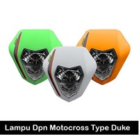 Lampu Depan Motocross Duke Sticker
