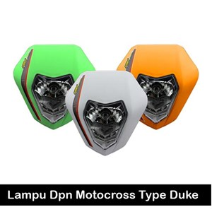 Headlights Motocross Sticker Duke