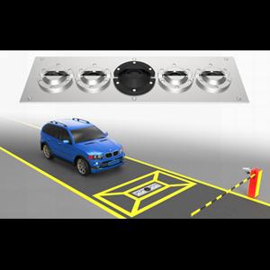 Detektor Bawah Kendaraan Inspection Mirror
