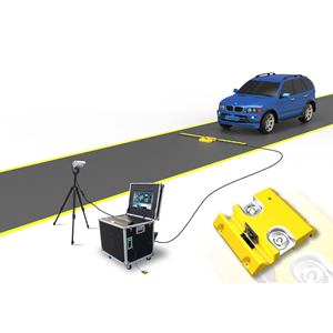 Dari Detektor Bawah Kendaraan Inspection Mirror 1