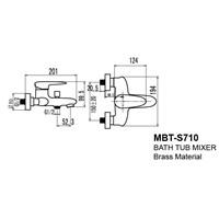 Jual Kran Bathtub Wasser MBT S 710 2