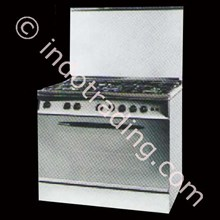 Kompor Freestanding Ariston Maxi Cookers C 081 SG1 X
