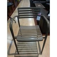 Jual Andrew Steel Chair Light Brown