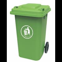 Tempat Sampah Roda Plastik 100L 1