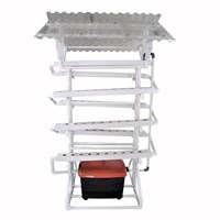 Jual Jirifarm Taman Hidroponik Paket Starterkit Nft Model I 70 Lubang Tanam Atap Solartuff Anti Uv 2