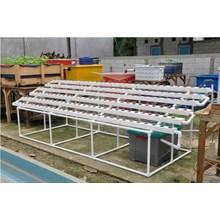 Taman Jirifarm Hidroponik 09293 Paket Starterkit Hidroponik Nft 180 Lubang Tanam