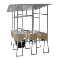 Jirifarm Starterkit Hidroponik Dutch Bucket 12 Pot Atap Solartuf (Taman) Murah 5