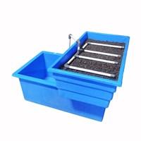 Jirifarm Paket Akuaponik Simpel#1 Include Bibit Ikan Nila Dan Sayur (Taman) 1