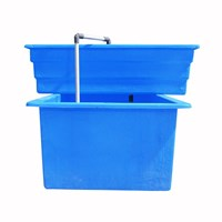 Jual Jirifarm Paket Akuaponik Simpel#1 Include Bibit Ikan Nila Dan Sayur (Taman) 2
