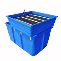 Jual Jirifarm Paket Akuaponik Simpel#2 Include Bibit Ikan Nila Dan Sayur (Taman)