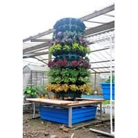 Jual Jirifam Vertical Garden Bulat 160 Lubang Tinggi 2.5 M + Kolam & Kursi (Taman) 2