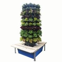 Jirifam Vertical Garden Bulat 160 Lubang Tinggi 2.5 M + Kolam & Kursi (Taman) 1