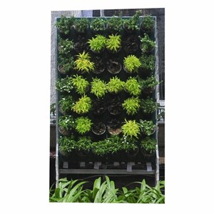 Jirifarm Vertikal Garden 42 Pot Untuk Susunan Huruf (Taman)