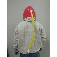 Jual Blasting Helmet Suit Curve Screen With Jacket 2
