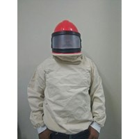 Blasting Helmet Suit Curve Screen With Jacket 1