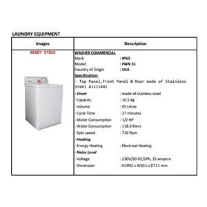 Mesin Cuci 10.5 Kg