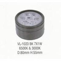 Jual Lampu LED down light VL-1023 BK