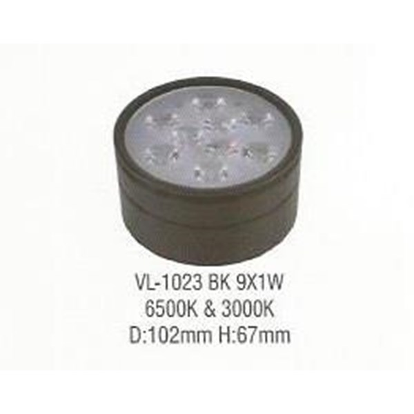 LED COB down light VL-1023 BK9X