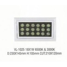 Lampu LED down light VL- 1025