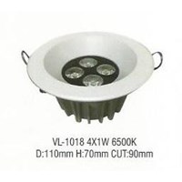 Lampu LED down light VL- 1018