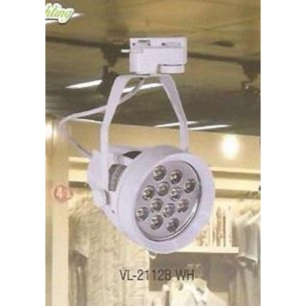 Lampu Spotlight / Track LED VL-2112B WH