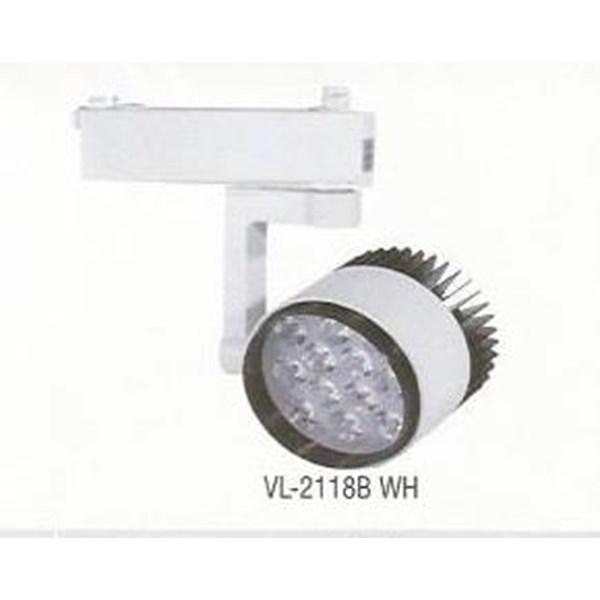 Lampu Spotlight /  Track LED VL-2118 B WH