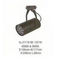 Lampu LED down light VL 2111B BK