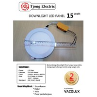 Downlight Panel LED Vacolux 15watt