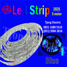 Lampu LED Strip 2835 warna Biru