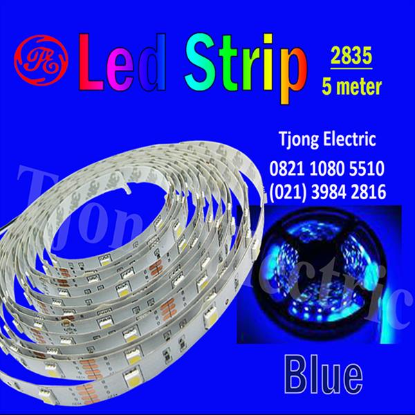 Lampu LED Strip 2835 warna Biru