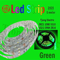 Lampu LED Strip 2835 warna hijau 1