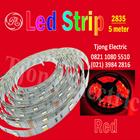 Lampu LED Strip 2835 warna merah 1