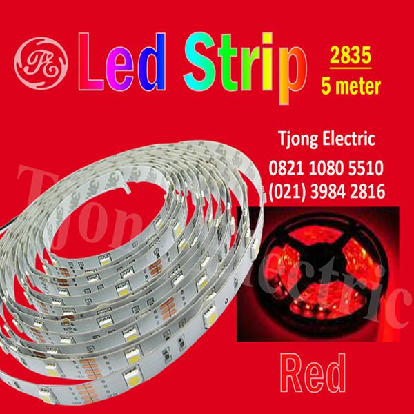 Lampu LED Strip 2835 warna merah