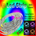 Lampu LED Strip 2835 warna RGB 1