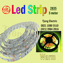 Lampu LED Strip 2835 warna Warm