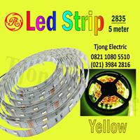 Lampu LED Strip 2835 warna kuning