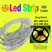 Lampu LED Strip 2835 warna kuning