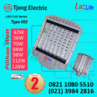Lampu Jalan LED Luzlite 98w 1