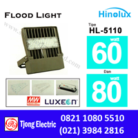 Lampu Sorot LED 60w dan 80w Multi Chip Hinolux HL-