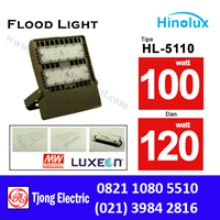 Lampu Sorot LED 100w -120w Multi Chip Hinolux  HL